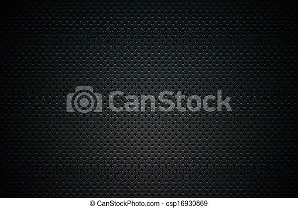 Black Mesh Background - csp16930869