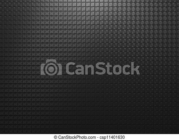 black , metaal, achtergrond - csp11401630