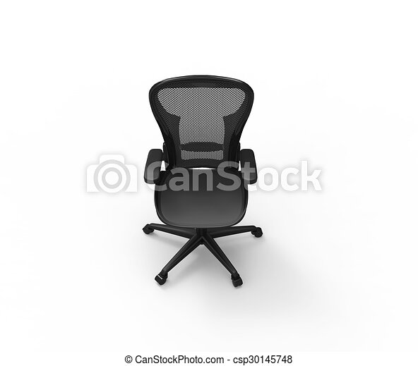 black modern office chair top view drawing - search clip art