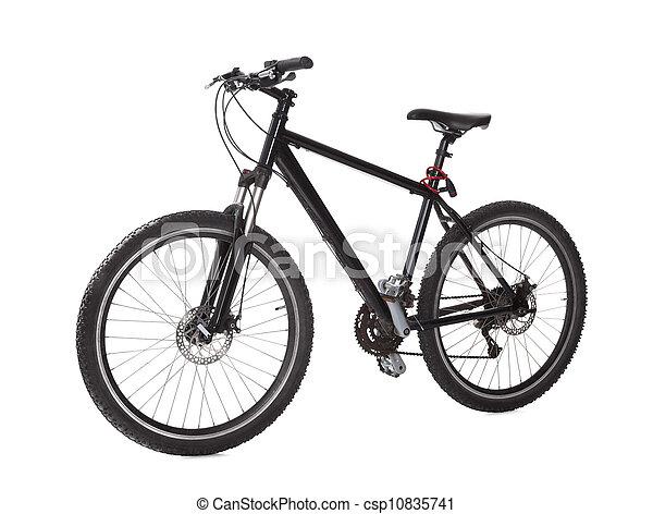 Black mountain bike - csp10835741