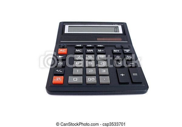 black office calculator - csp3533701