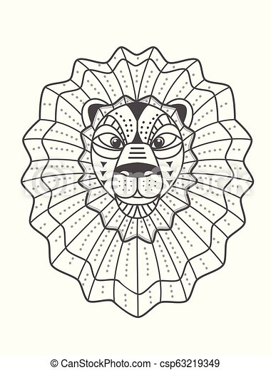 Lion Outline Head / Download 8 lion head outline free vectors.