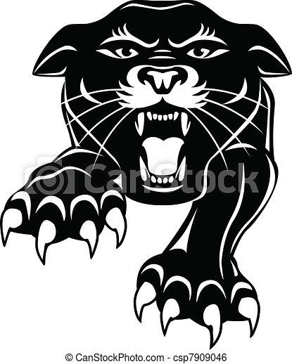 Black panther - csp7909046