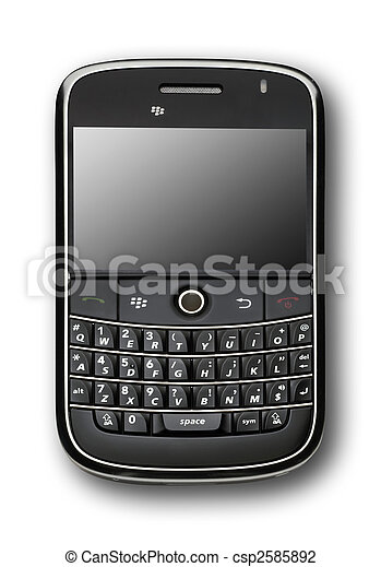 Black PDA. isolated - csp2585892