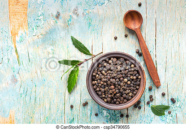 black pepper - csp34790655