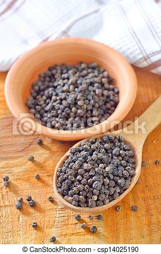 black pepper - csp14025190