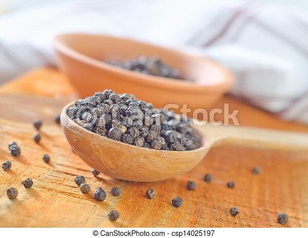 black pepper - csp14025197