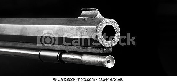 Black Powder Rifle Barrel. - csp44972596