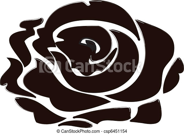 Black Rose - csp6451154