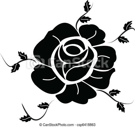 Black Rose - csp6418863