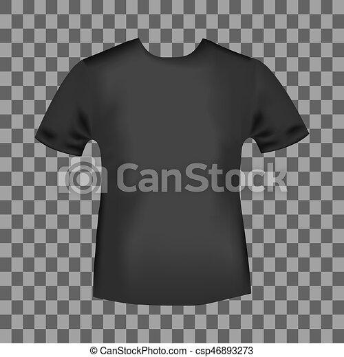 d222ba164 Black round neck t-shirt. T-shirt template. new york city vintage ...