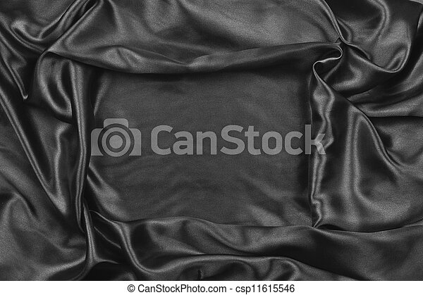 black satin - csp11615546