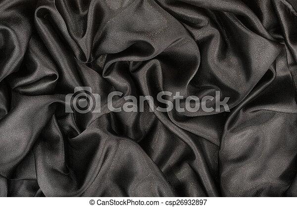 Black satin - csp26932897