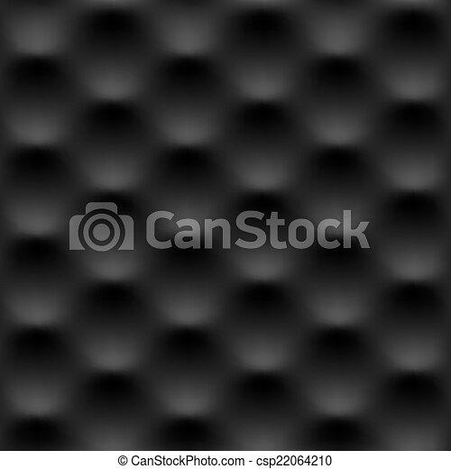 Black seamless pattern - csp22064210