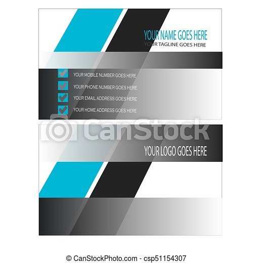 Black shining business card design vector black shining business card design vector reheart Image collections