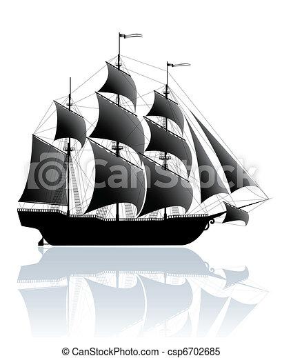 Black ship - csp6702685