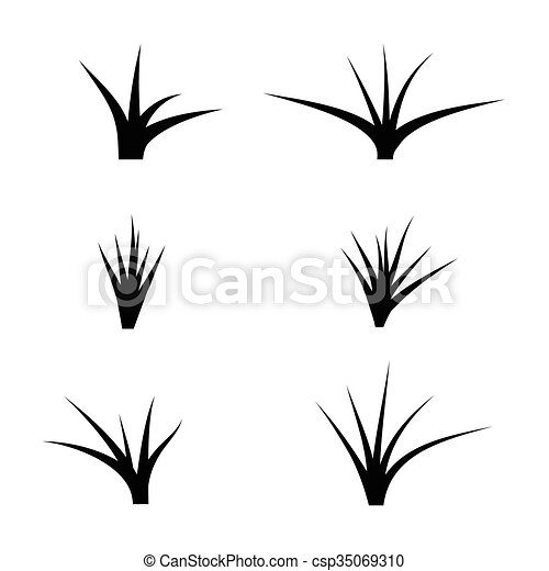 black silhouette of grass vector clip art search illustration rh canstockphoto com grass vector to raster grass vector silhouette