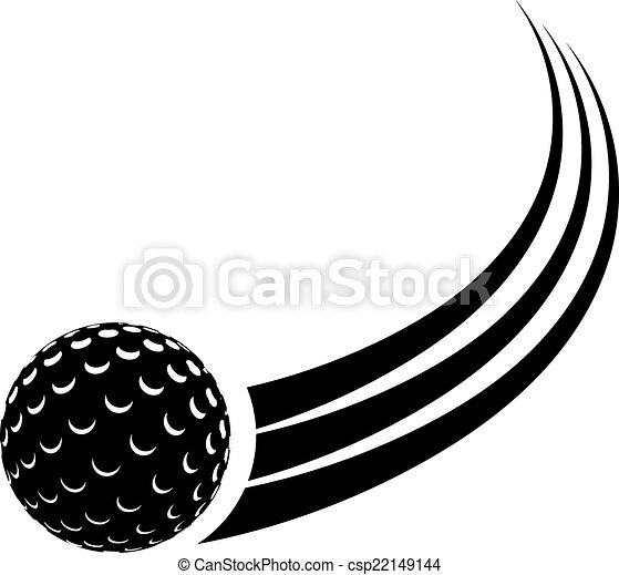 black silhouette of the ball for field hockey with a trace eps rh canstockphoto com field hockey sticks clipart field hockey goalie clipart