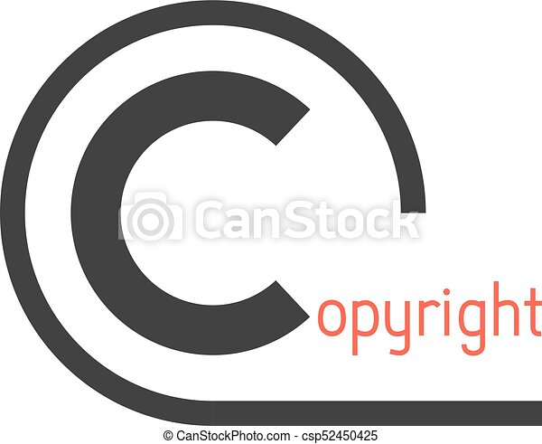 Black Simple Copyright Symbol Concept Of Copyright Icon Copyright