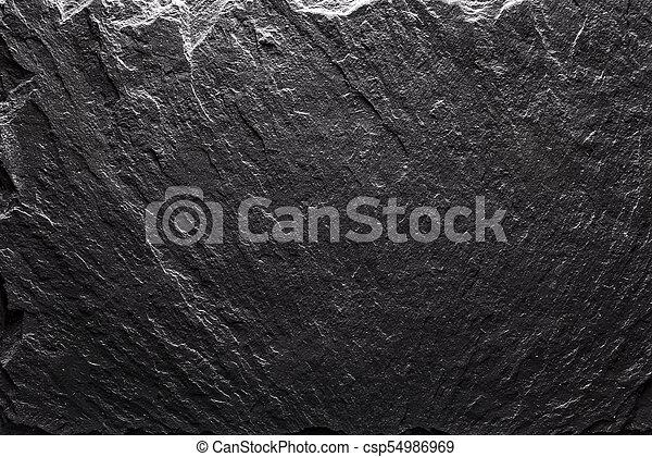 black slate texture. Black Slate Texture Closeup - Csp54986969 G