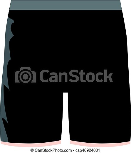 black shorts cartoon