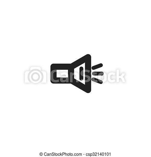 black speaker icon - csp32140101
