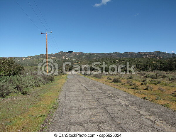 Black Star Canyon Road - csp5626024