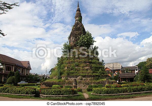 Black stupa - csp7892045