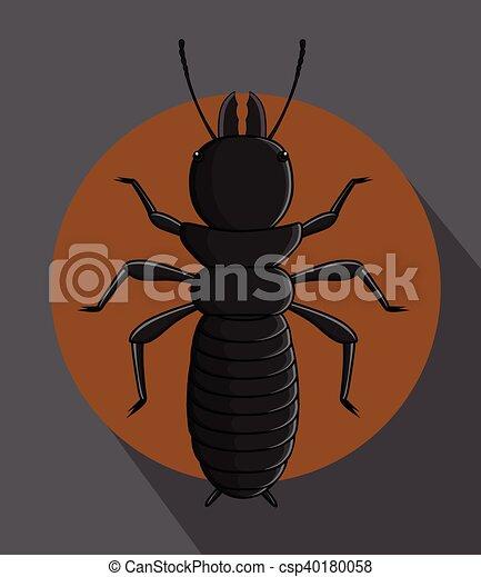 Black Termite Vector - csp40180058