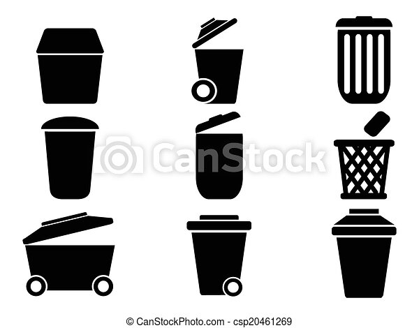 Icons Png Trashcan Furniture Icon