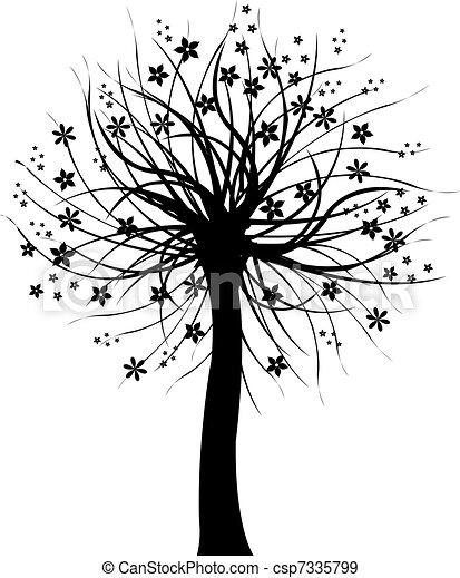 Black tree csp7335799