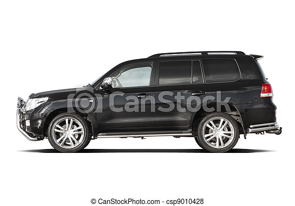 Black tuned SUV - csp9010428
