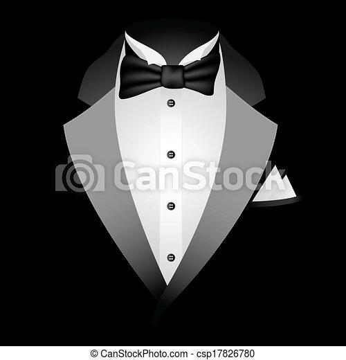 Black Tuxedo  - csp17826780