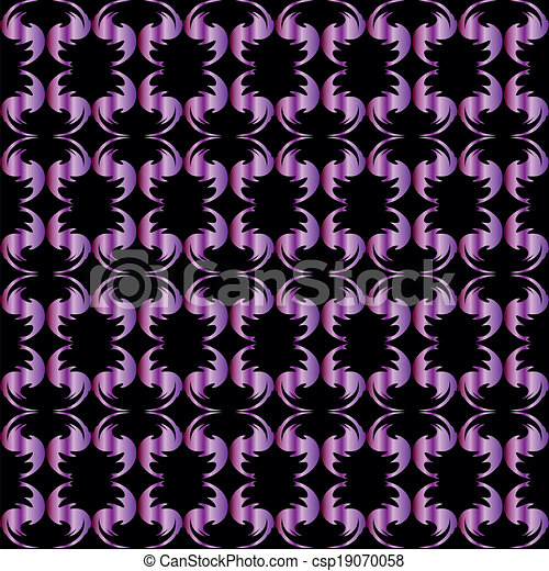 Black -violet background - csp19070058
