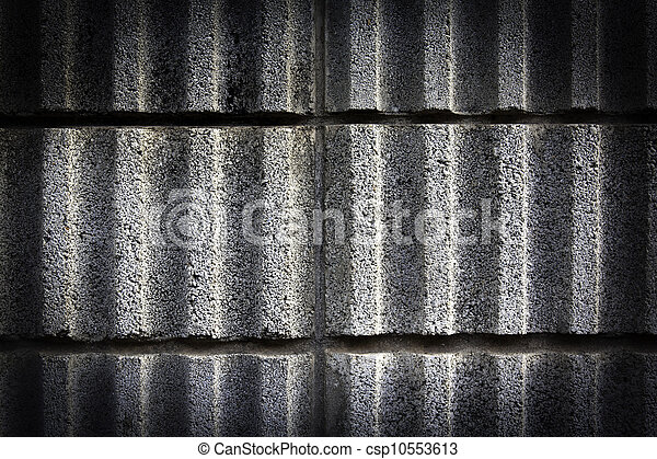 black wall cement texture - csp10553613