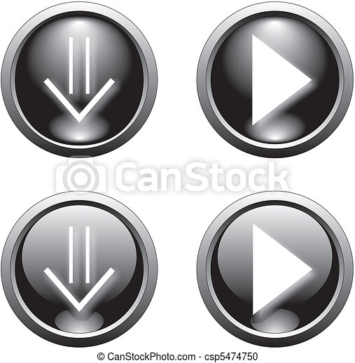 black web  button      - csp5474750