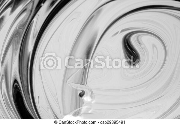 Black white abstract background - csp29395491