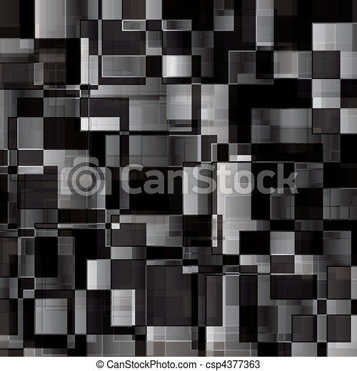 black white and grey abstract background from rectangles