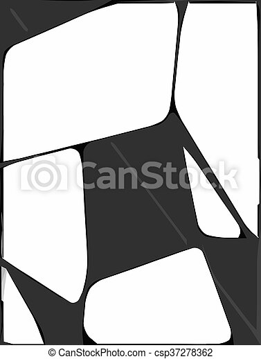 black white and grey abstract background - csp37278362