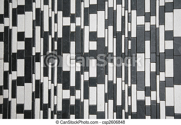 black white stone wall - csp2606848