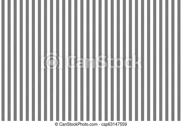 Black White Striped Fabric Texture Seamless Pattern Vector