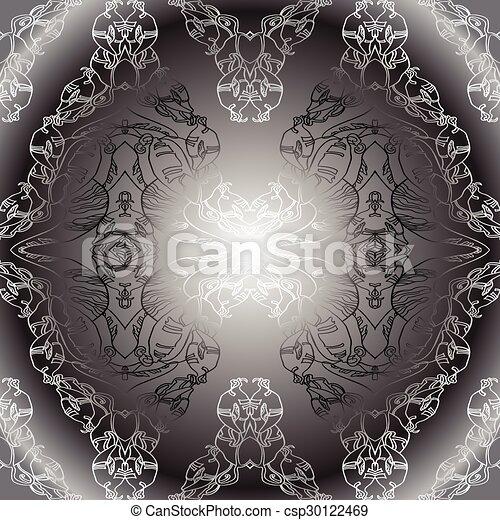 Black White Vintage Wallpaper