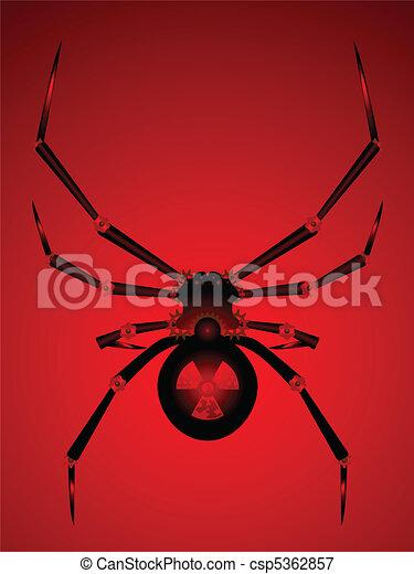 Black widow bot - csp5362857