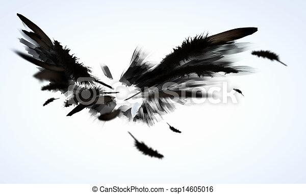 Black wings - csp14605016
