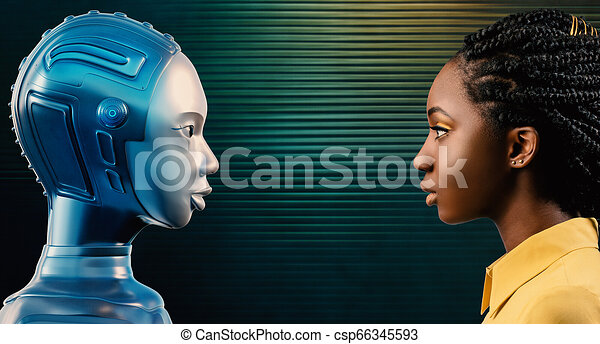 Cartoon Womans Profile Beautiful Blonde Side Stock-Vektorgrafik  (Lizenzfrei) 1022324377