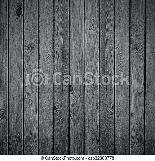 Black Wooden Rustic Background
