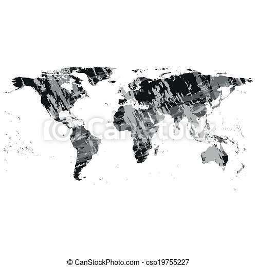 Black world map vector black world map dark design vector black world map vector gumiabroncs Gallery