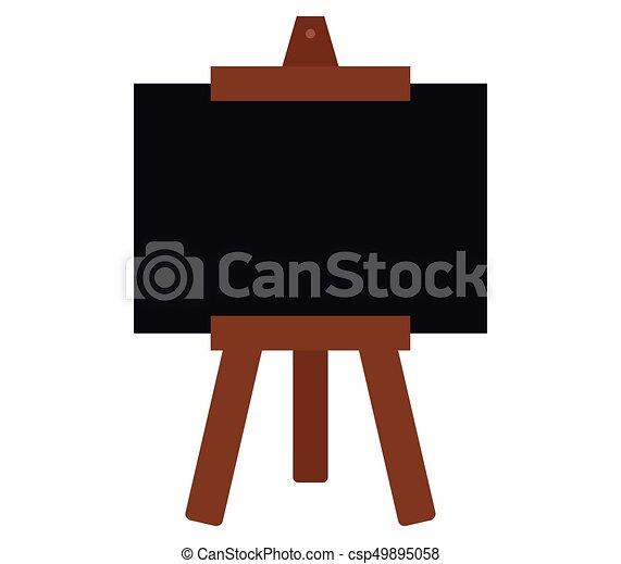 Blackboard icon - csp49895058