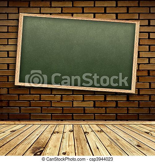 Blackboard in interior - csp3944023
