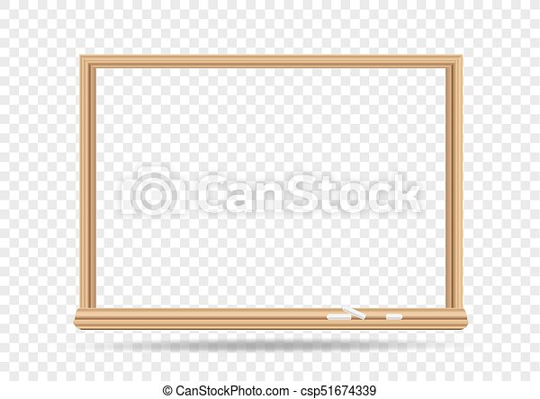 Blackboard template transparent. School blackboard on transparent ...